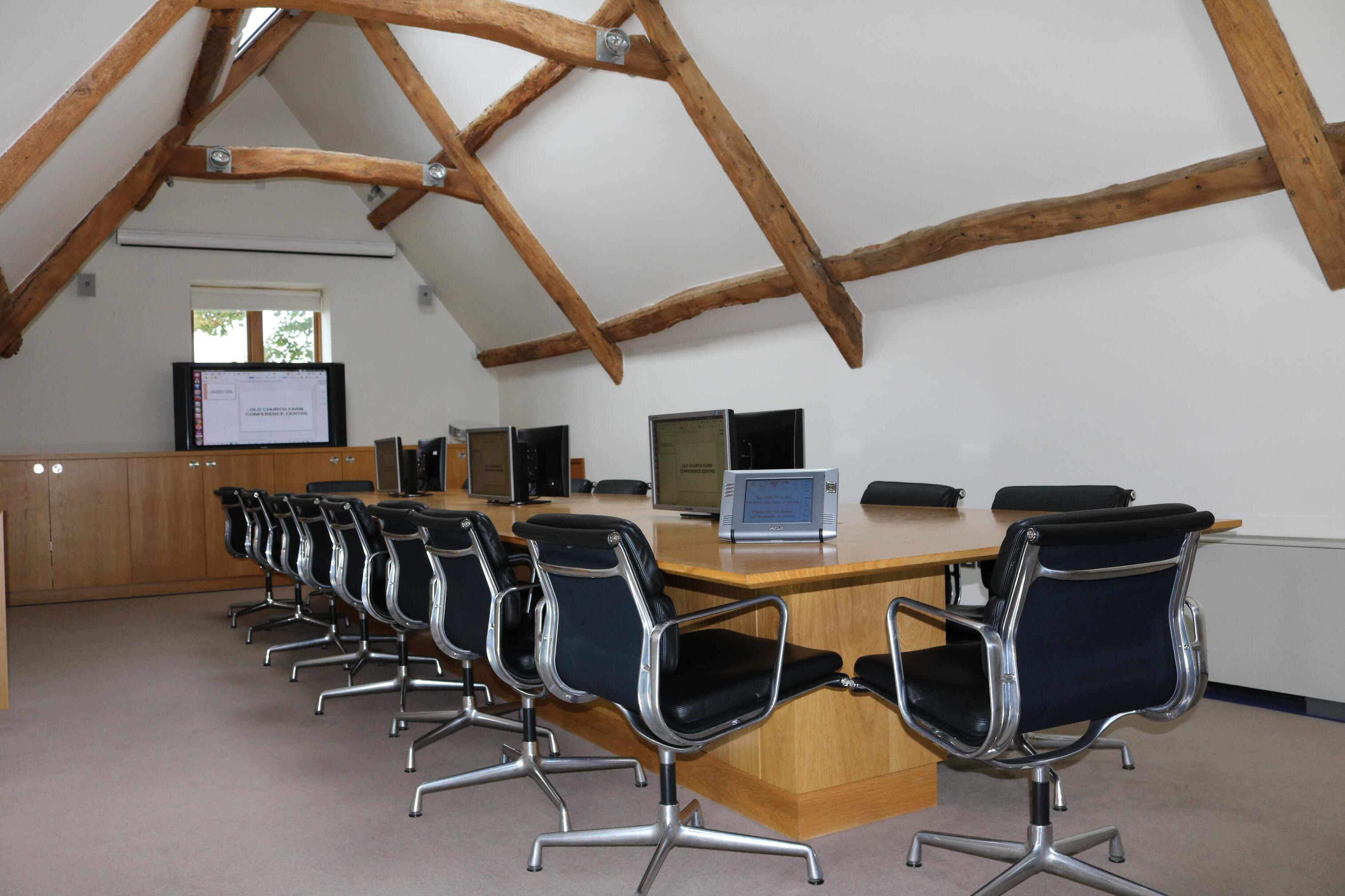 The boardroom at Old Church Farm