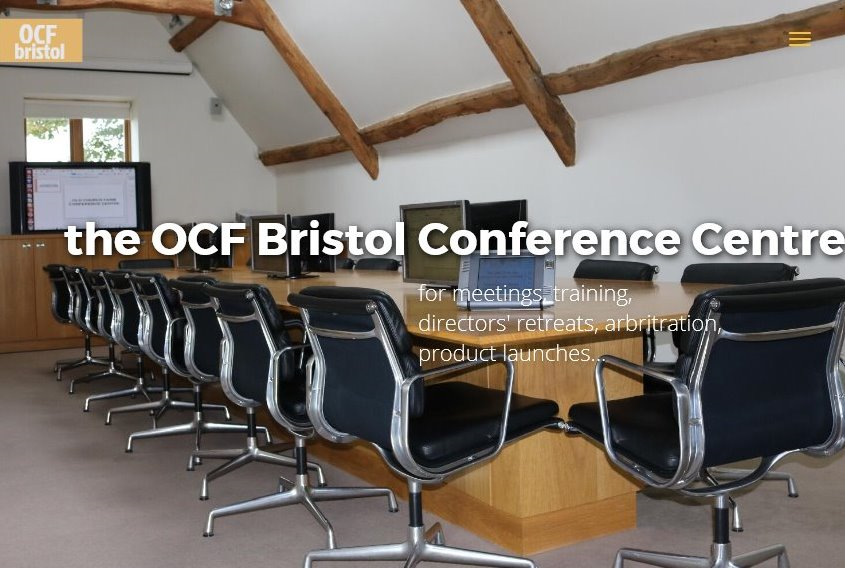 OCF Bristol Conference Centre web site www.ocf-bristol-conference-centre.co.uk