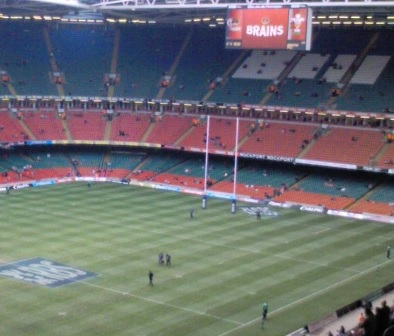 Principality stadium Cardiff Rugby Six Nations