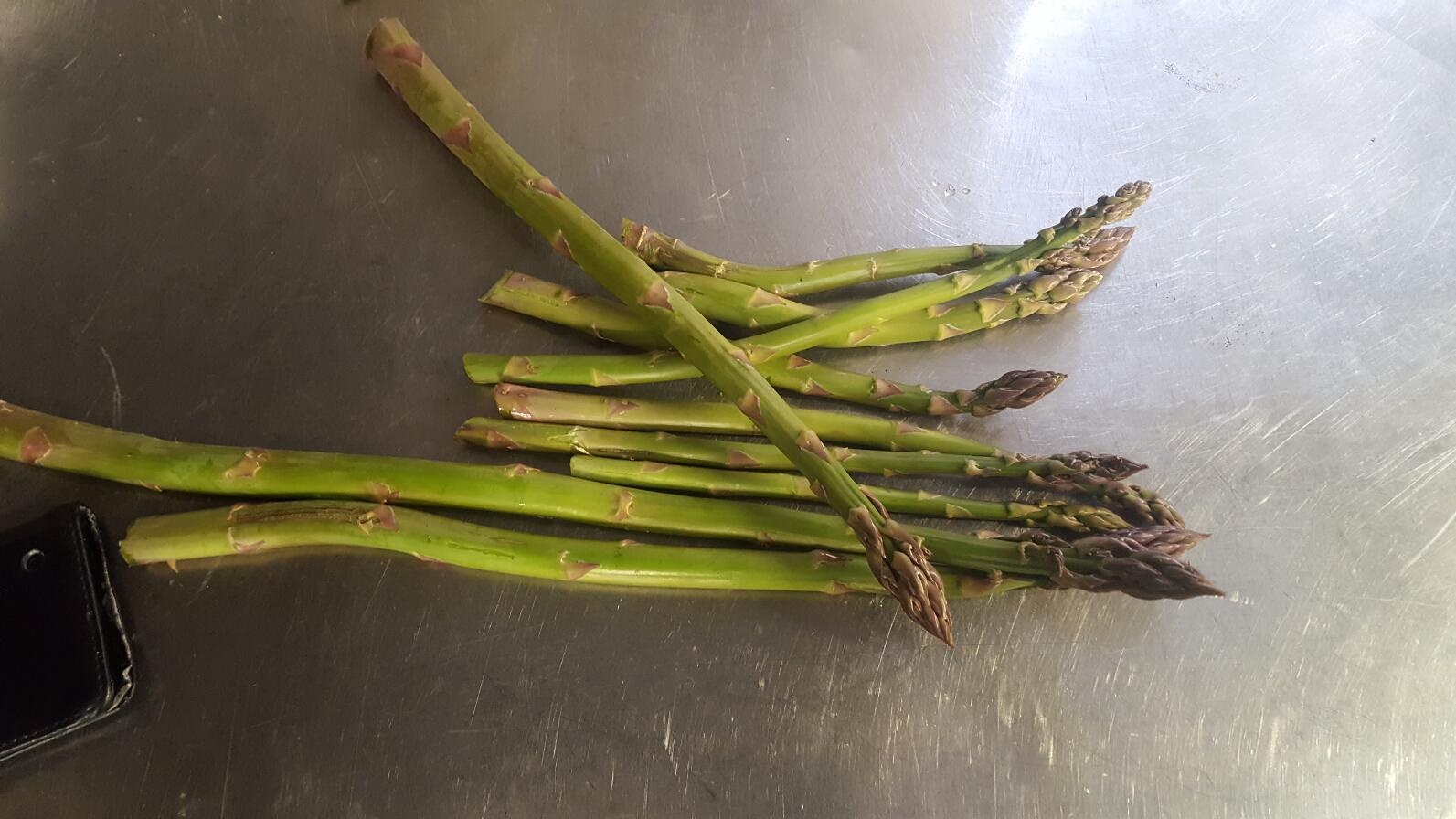 Old Church Farm grown asparagus
