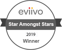 Logo of the Eviivo Awards Star Amongst Stars 2019 Award