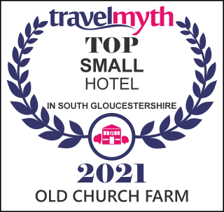 Old Church Farm is awarded top hotel in South Gloucestershire by Travelmyth