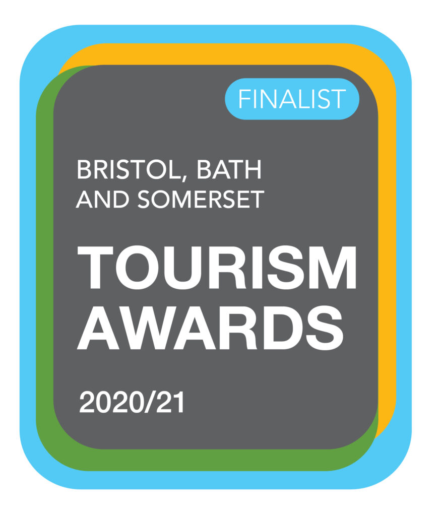 Bristol Bath and Somerset Tourism Awards Finalist 2020/21 logo