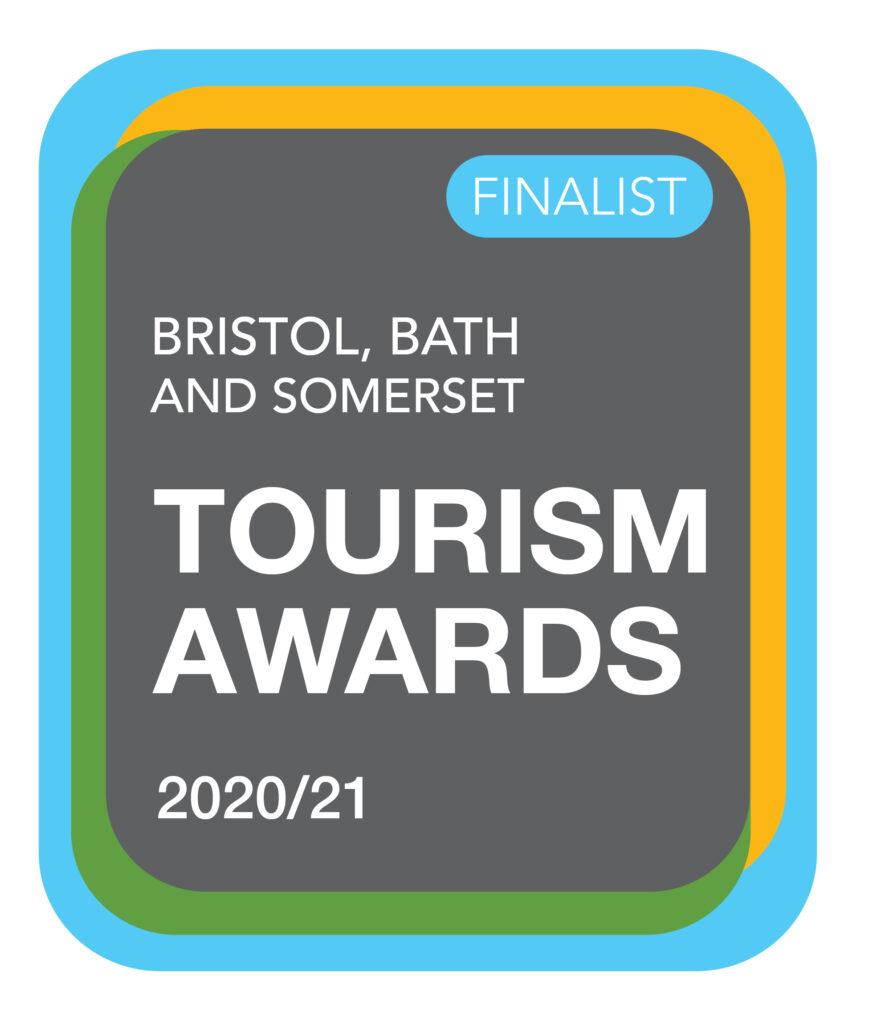 Bristol Bath and Somerset Tourism Awards Finalist 2020/21 logo