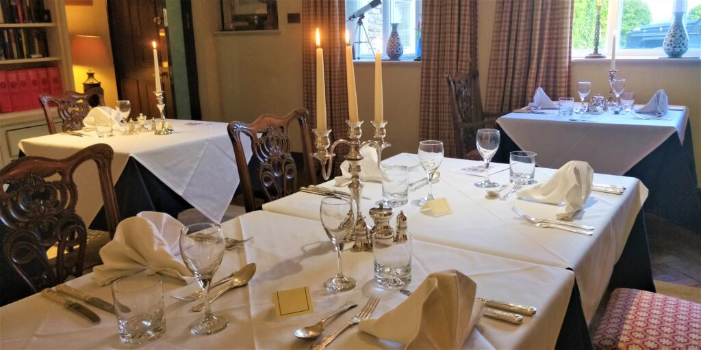 Photo of one of our dining rooms